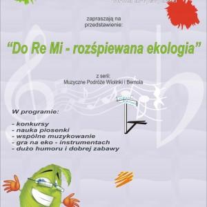 WiB-plakat-8-semestr-do re mi - rozśpiewana ekologia