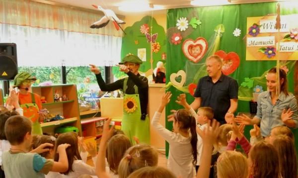 Dzień rodziny w Przedszkolu nr 188 w Krakowie